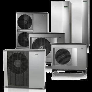 Αντλίες Θερμότητας Αέρα Νερού NIBE